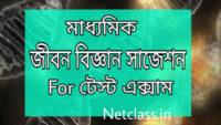 Madhyamik Life Sciecne Suggestion for Test Exam 2021