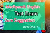 Madhyamik English Test Exam Suggestion 2021