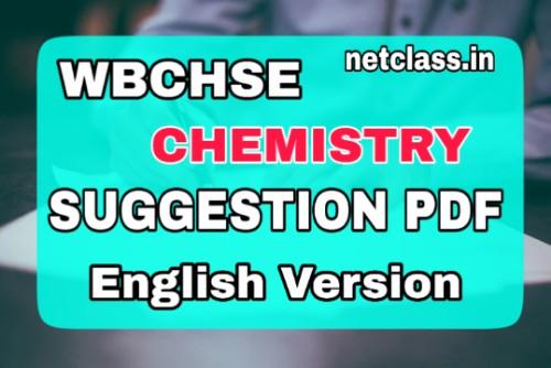 HS 2021 Chemistry Suggestion PDF [English Version]